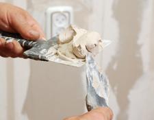 Taping Drywall