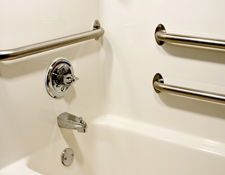 Bathroom and Shower Grab Bar Installation