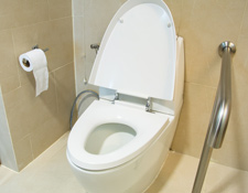 Handicap Toilet Installation